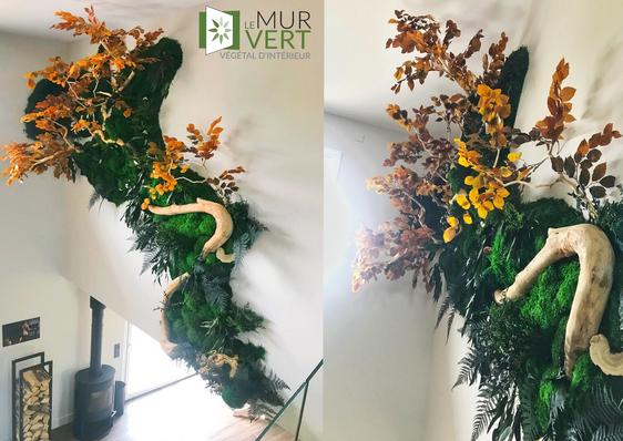 メンテナンスなしの秋の植物装飾