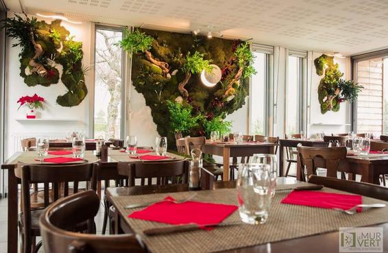 グリーンコートのガーデンレストラン