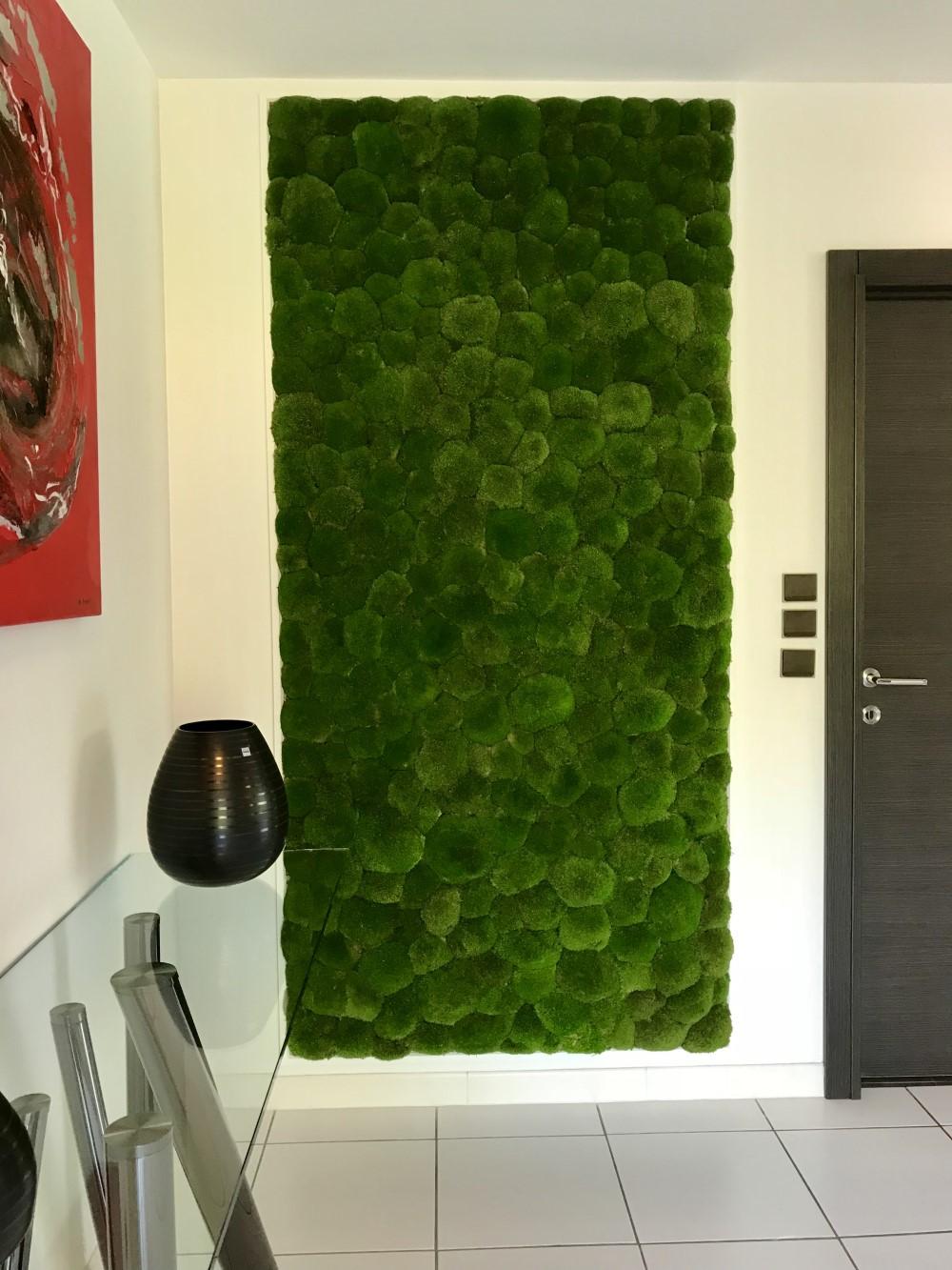 Die Grüne Wand Stabilisierte Schaumkugel Die Die Grüne Wand Malt